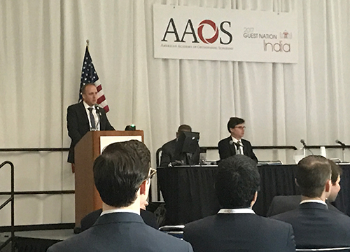 Ross AAOS Annual Meeting